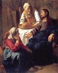 Mary at Jesus feet